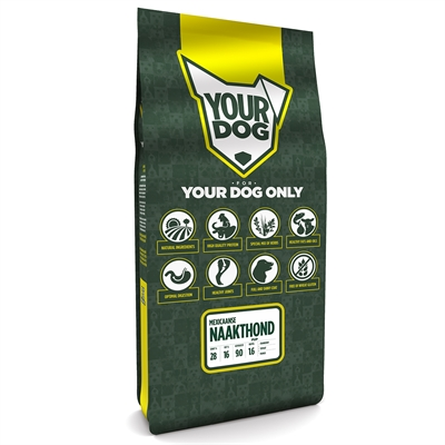 Yourdog mexicaanse naakthond pup