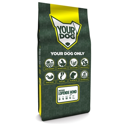 Yourdog zwitsere lopende hond pup