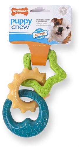 Nylabone puppy chew bijtringen