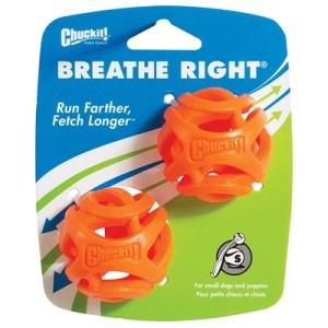 Chuckit breathe right fetch bal oranje