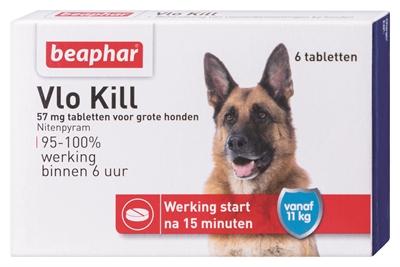 Beaphar vlo kill+ grote hond vanaf 11 kg