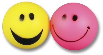 Happy pet vinyl smiley bal