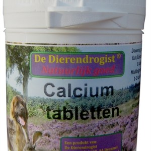 Dierendrogist calcium tabletten