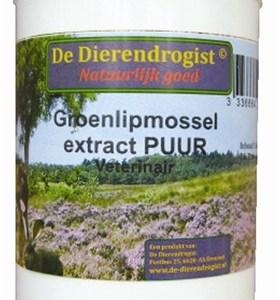 Dierendrogist groenlipmossel extract veterinair