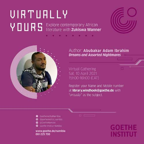 April 10: Virtually Yours with Abubakar Adam Ibrahim
