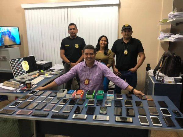 policia militar Coari celulares