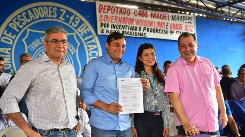 Governo do Amazonas e Caixa