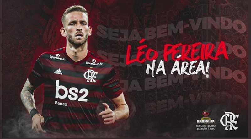 Flamengo Léo pereira