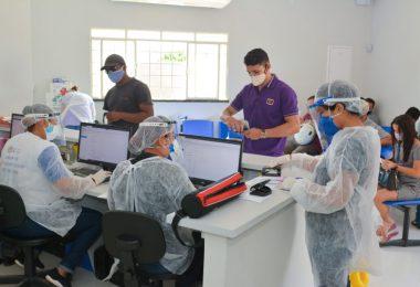 Em 24 horas foram atendidos 2.744 pacientes nas UBS, além de 873 testes rápidos para covid, onde 397 deram positivos e 440 tiveram resultado negativo | Foto: SEMUC