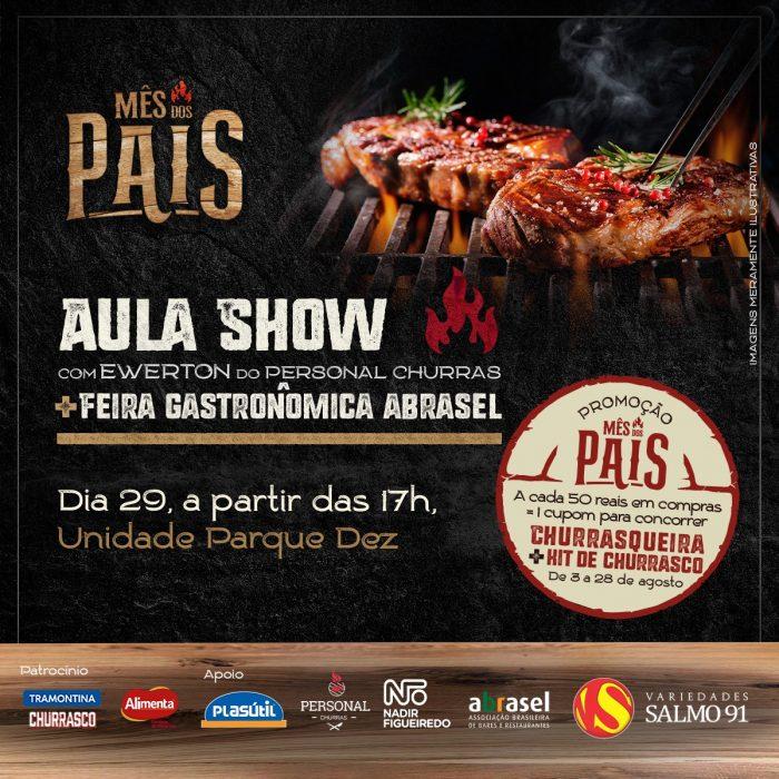 Restaurantes renomados participarão da feira e quem comandará a aula show será o chef Ewerton do Personal Churras | Foto: Divulgação