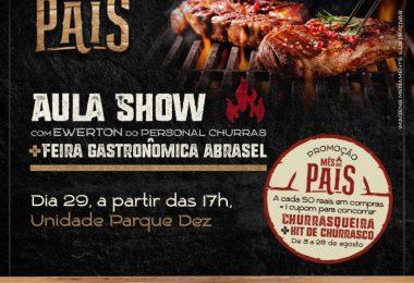 Restaurantes renomados participarão da feira e quem comandará a aula show será o chef Ewerton do Personal Churras   Foto: Divulgação