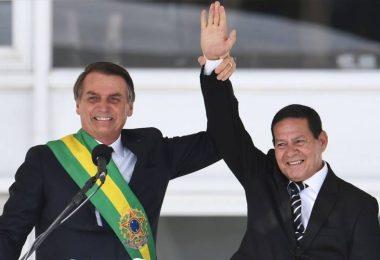 Hamilton Mourão e Jair Bolsonaro | foto: Internet