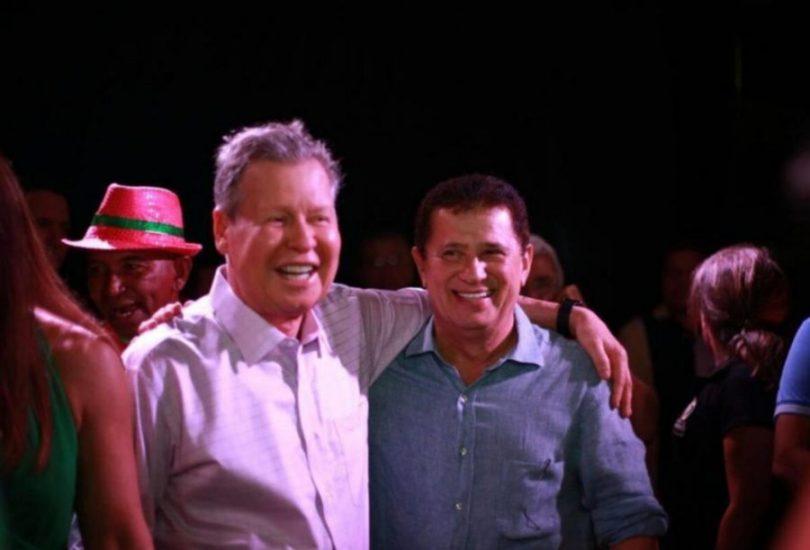Arthur Neto e Alfredo Nascimento   Foto: divulgação