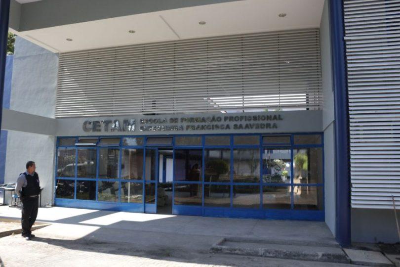 Escola Saavedra   CETAM   Foto: Erick Bitencourt