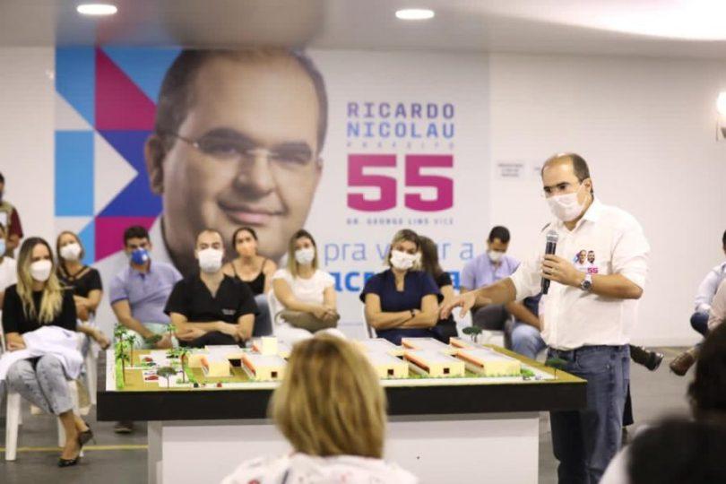 Eleições 2020 Ricardo Nicolau | Fotos: Marcelo Cadilhe