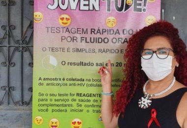Sumaia Dias - Nucleo de Controle AIDS. Foto: Ascom