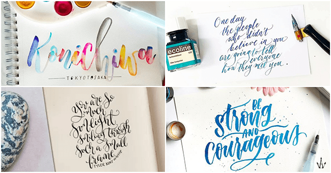 Calligraphy workshops in singapore for the tumblr girl in you