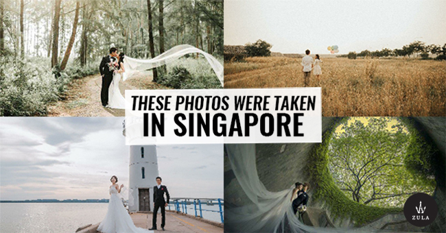 17 Wedding Shoot Nature Locations In Singapore That Dont Look Like SG