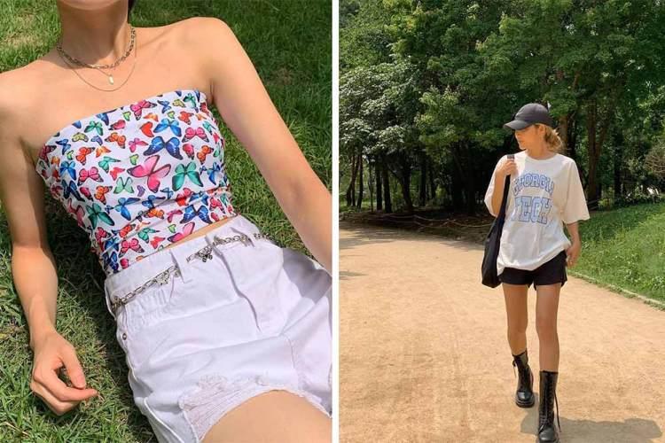 korean fashion black-up