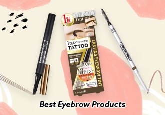 best eyebrow products 2019