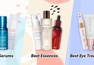 best serums essences eye treatments
