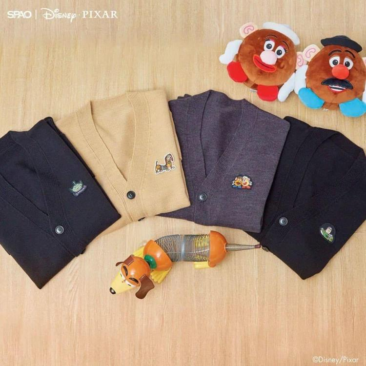 spao toy story cardigans