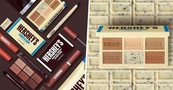 Etude House x Hershey's Eyeshadow Palettes Look Like Actual Bars Of Chocolate For A Sweet Valentine's Day Treat