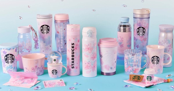 Starbucks Japan Is Launching Another Round Of Sakura-Themed Merchandise Including A Snow Globe & Mug Set
