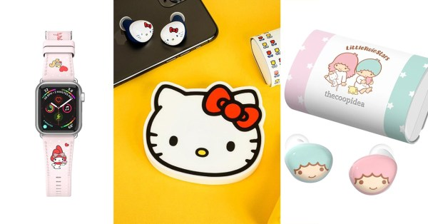 Sanrio x The Coop Idea Collection Includes Wireless Earbuds Featuring Hello Kitty, My Melody & Little Twin Stars