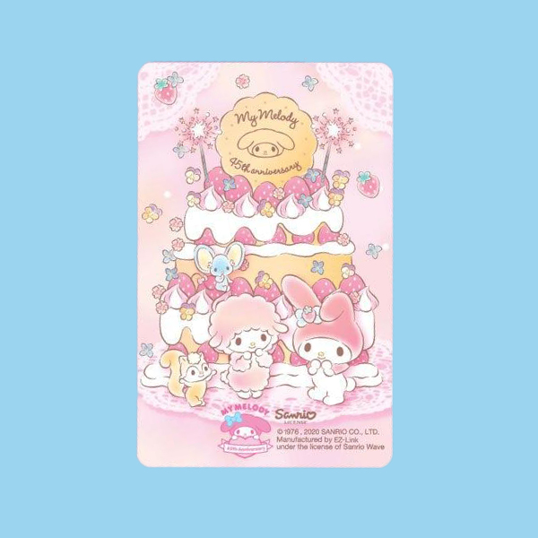 my melody ez-link cards design b