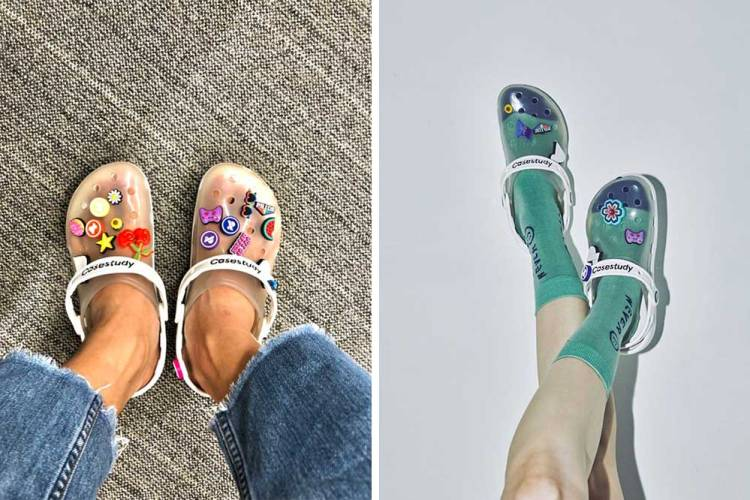 jelly shoes crocs