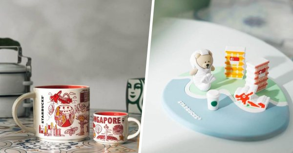 Starbucks' Latest Collection Starring The Merlion Bearista Is A Love Letter To Singapore