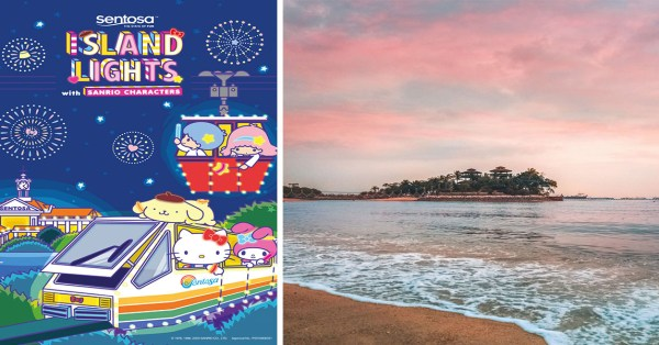 Sentosa Will Have Giant Light Installations With Sanrio Characters & IG-Worthy Backdrops, Admission Is Free