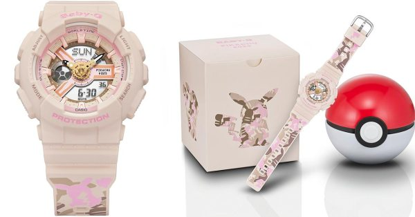 Casio & Pokemon Just Revealed A New BABY-G Watch With A Female Pikachu, Now You Can Really Catch 'Em All