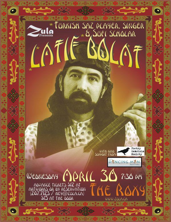 Latif Bolat -- South Coastal BC Tour -- 4.30-5.3.08