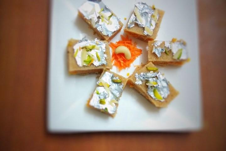 Gajar Suji Halwa fusion recipe