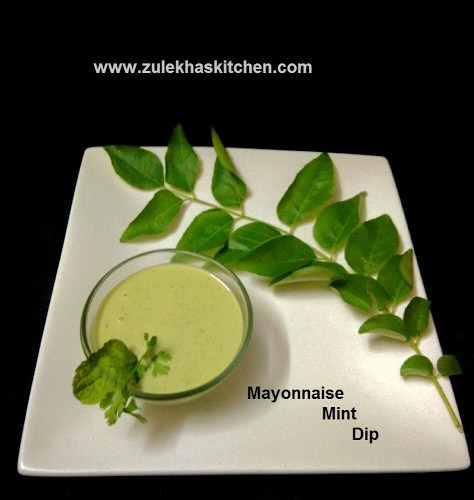 Mayonnaise Dip with Mint