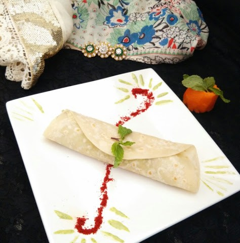 Chicken Malai Tikka Wraps | Reshmi Malai Kebab Roll