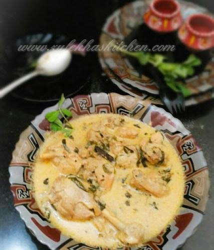 Methi Malai Chicken