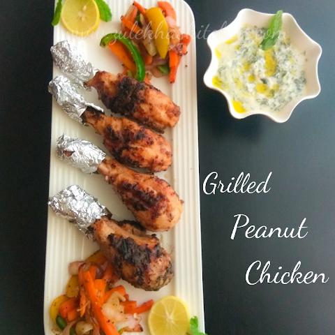 Keto Recipe ( Thai Grilled Chicken )