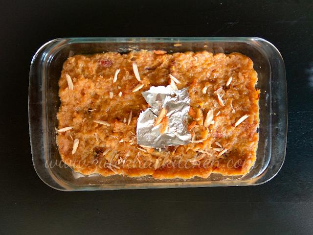Bread Halwa ( Pav Halva ) recipe
