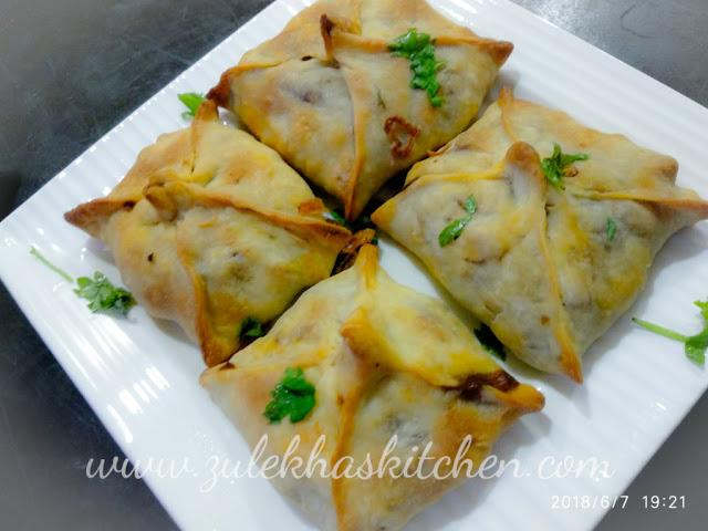 Chicken Chinese Samosa recipe