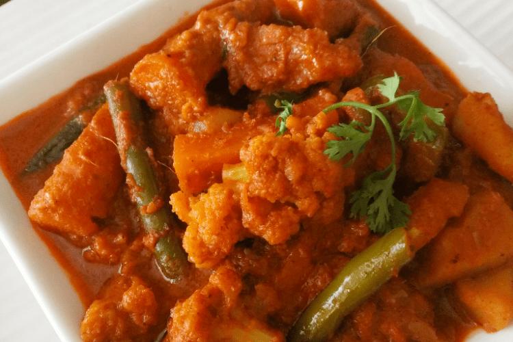 Restaurant style Veg Kolhapuri