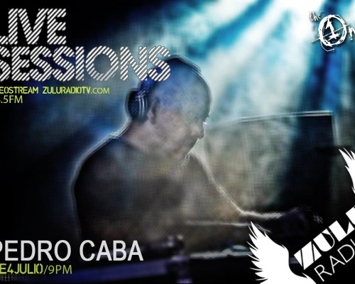Live Session (Pedro Caba) Disponible