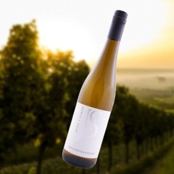 223 Josef Simon Weißburgunder 2018, badischer Weißwein trocken, 0,75 l
