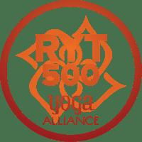 Logo RYT500 Registred Yoga Teacher 500 Yoga Alliance