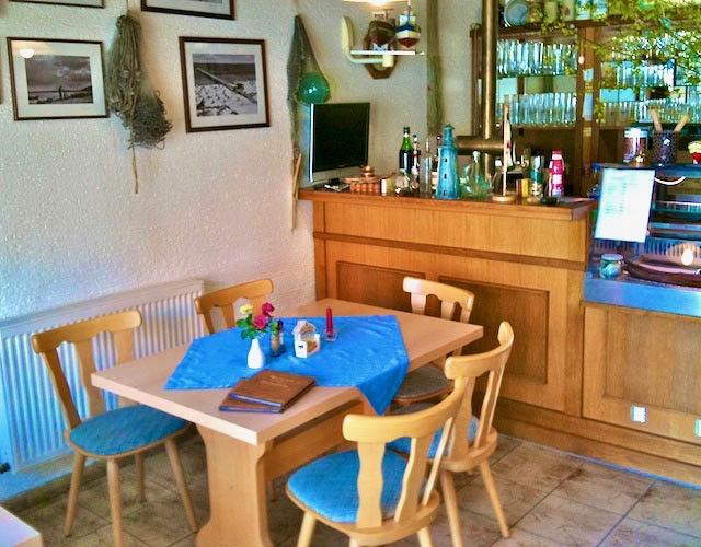 Innenansicht Fischrestaurant Baabe