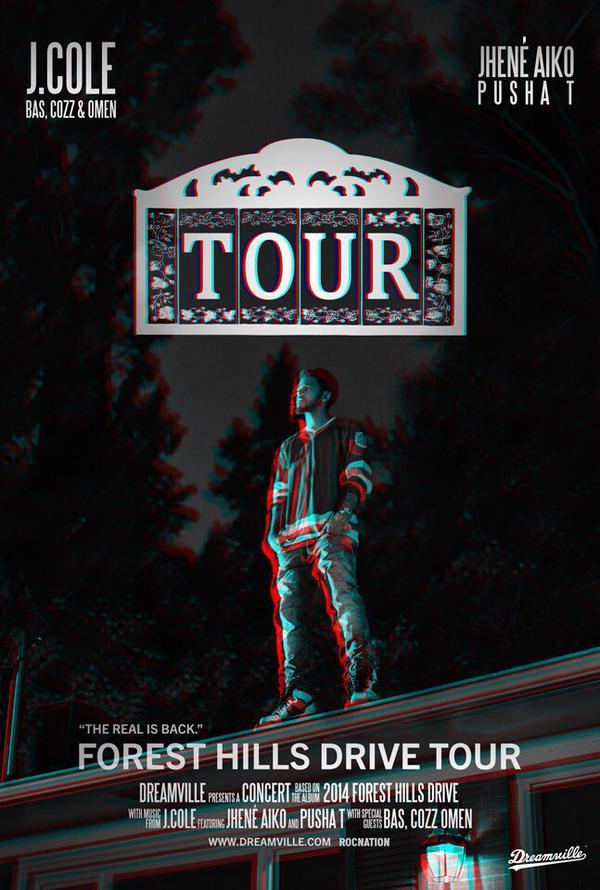 2015 forest hills drive tour dates