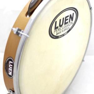 "Professional Pine Wood & Leather 10"" Pandeiro by LUEN - ZumZum Capoeira Shop"