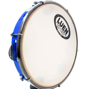 "10"" LUEN Pandeiro- Brazilian Tambourine - Handcrafted - Made in Brazil - ZumZum Capoeira Shop"